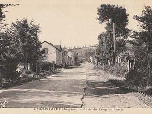 Poste du camp du Larzac